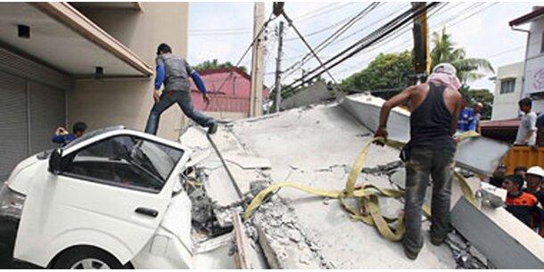 Erdbeben reißt mehrere Menschen in den Tod