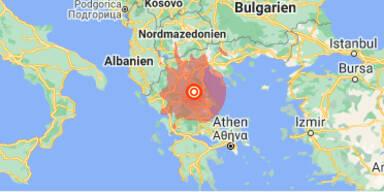 Erdbeben der Stärke 6 erschüttert Griechenland