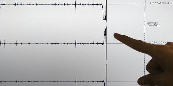 Tsunami-Welle nach schwerem Beben im Pazifik beobachtet