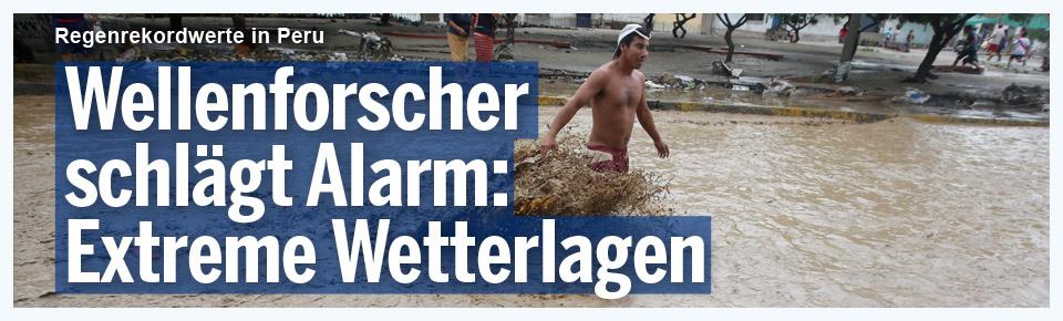 Wellenforscher schlägt Alarm: Extreme Wetterlagen