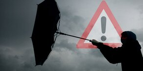 Orkan-Warnung für das Wochenende