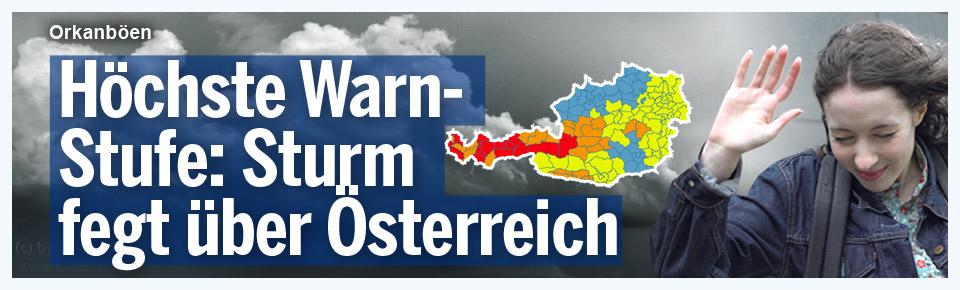 249 km/h-Sturm in Österreich gemessen