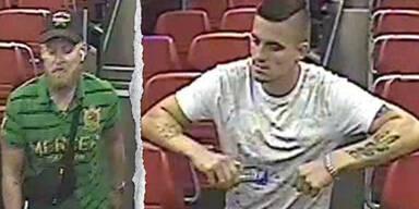 Masken-Sünder verprügeln Mann in ÖBB-Zug: Fahndung nach diesen Männern