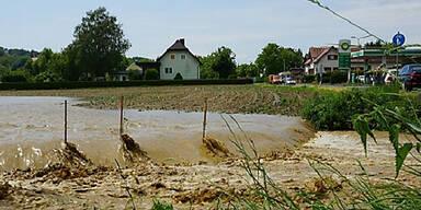 Unwetter bei Feldbach