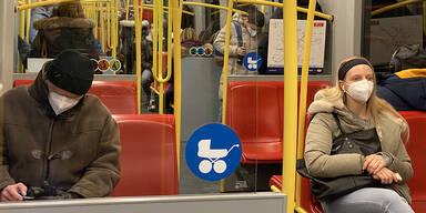 190.000 Masken-Muffel in der U-Bahn