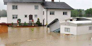 Überflutungen in Schärding