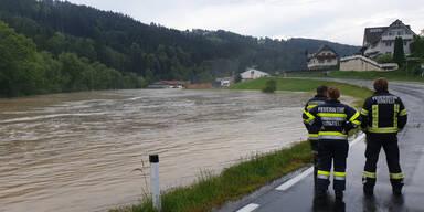 Unwetter Steiermark Joglland Ratten