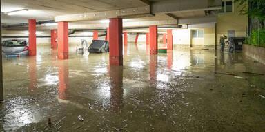Unwetter Salzburg Zivilschutzalarm