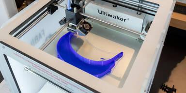 TU GRAZ Gesichtsschutz aus 3D-Drucker