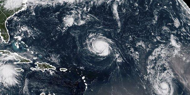 Hurrikan Florence bewegt sich auf US-Ostküste zu