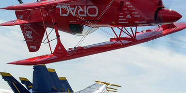 Spektakuläre Flugshow in San Francisco