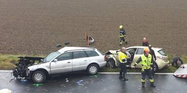 Horror-Crash in Oberösterreich: Zweite Person gestorben