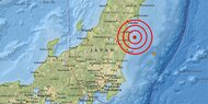 Beben erschüttert Küste vor Fukushima