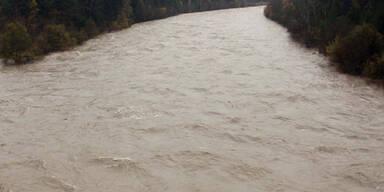 Gail führt Hochwasser