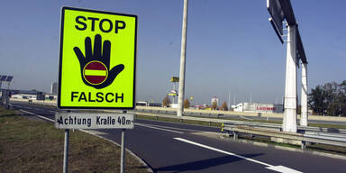 Geisterfahrer fuhr betrunken 28 Kilometer