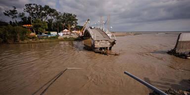 Hochwasser in Geldeznik