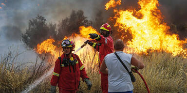 Griechenland Waldbrände