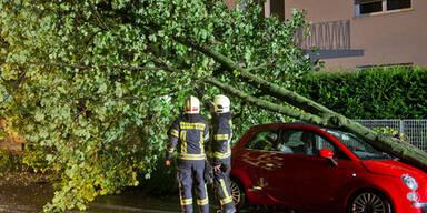 Schwere Unwetter sorgen für Chaos in Niederösterreich