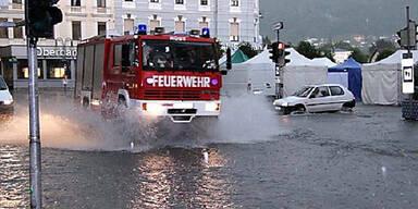 Hochwasser in Gmunden