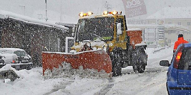 Winter-Comeback mit Schnee und Sturm