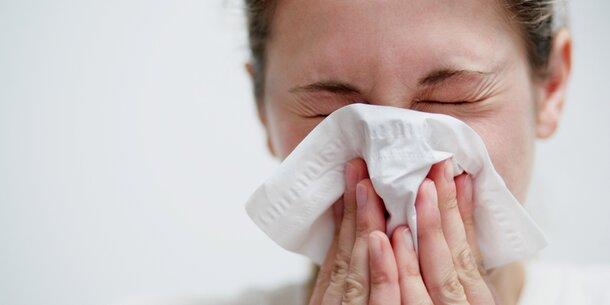 Grippale Infekte: Plus 61 Prozent