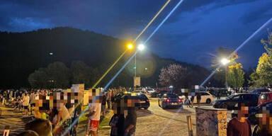 GTI-Treffen außer Kontrolle: Keine Masken, kein Abstand