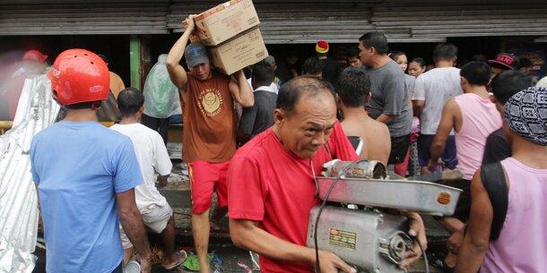 """Nach """"Haiyan"""": Chaos und Plünderungen"""