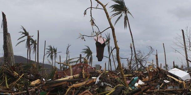 Philippinen: Neuer Sturm bringt Unwetter