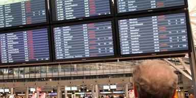 In Hamburg sind zahlreiche Flüge gestrichen