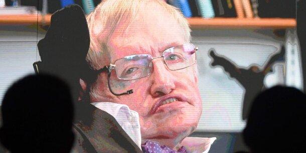 Wissenschaft: Stephen Hawking: Wir müssen in 100 Jahren die Erde verlassen