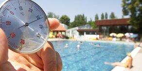 33 Grad: Das Wochenende wird heiß