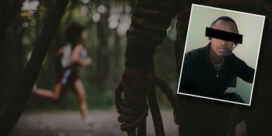 Polizei pfeift auf Helden, der Vergewaltiger stoppte
