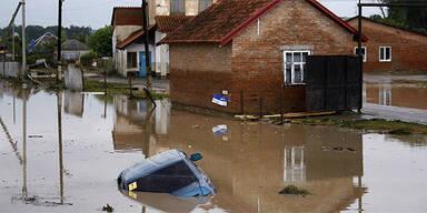 Hochwasser in Russland