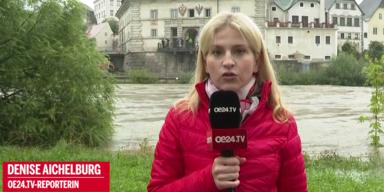 Hochwasser-Alarm in Teilen Österreichs