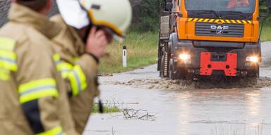 Feuerwehr-Einsatz im Raum Hollersbach