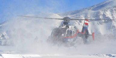 Schneemassen: Osttirol bereitet Hubschrauber für Einsatzflüge vor