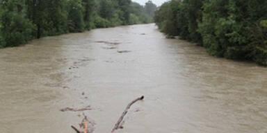 Hochwasser im Pinzgau