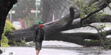 "Hurrikan ""Isaac"" trifft auf New Orleans"