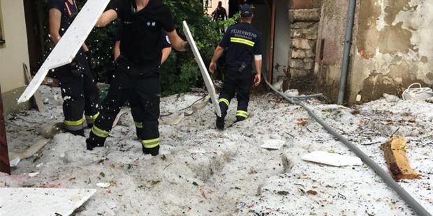 Schwere Unwetter und Hagelstürme im Raum Voitsberg