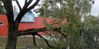 Schäden in Kapfenberg
