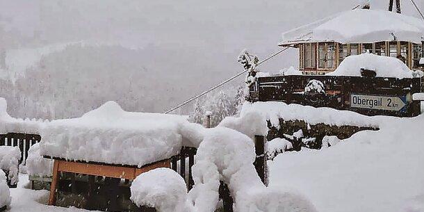 Schneewalze: Jetzt schneit's 10 Tage