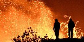 Waldbrand: Evakuierungen in Kalifornien