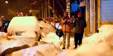 Kälte in Belgrad