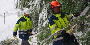 Kärnten räumt auf - Schnee schmilzt schnell