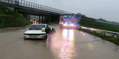 Überflutung Kematen