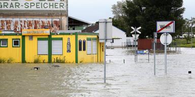 Hochwasser wien