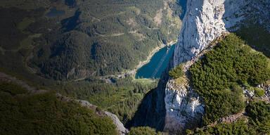 Oberösterreich: Große alpine Rettungsaktion für Bergwanderin