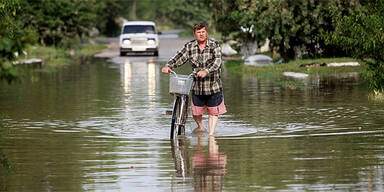 Flutkatastrophe in Krimsk / Russland
