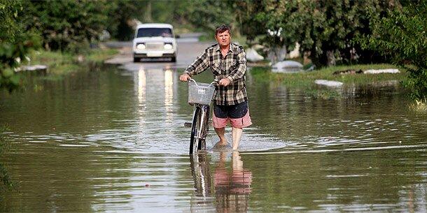 Russland: Trauertag nach Flut-Katastrophe