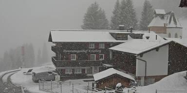 Schnee-Chaos: Wetter-Warnung in mehreren Bundesländern
